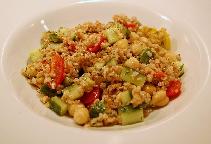 Glutensiz Bulgur Salatası