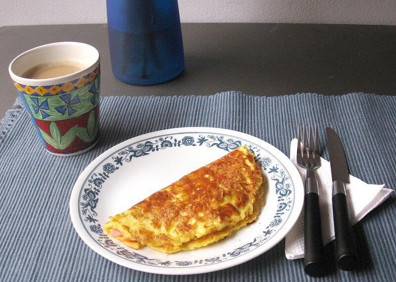 Glutensiz  Omlet