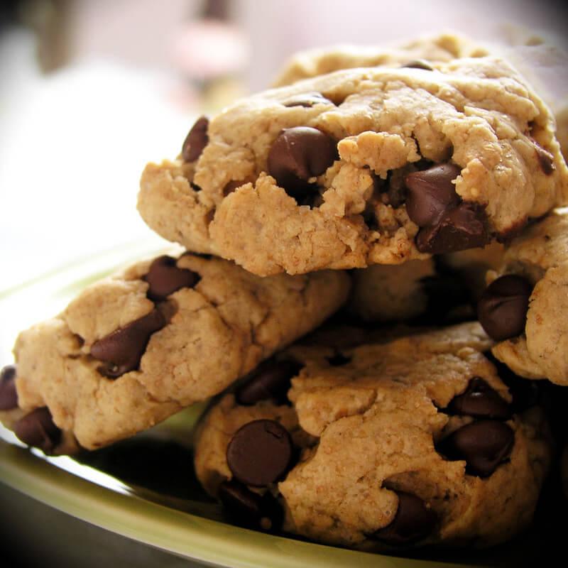 Glutensiz  Parça Çikolatalı Kurabiye Tarifi