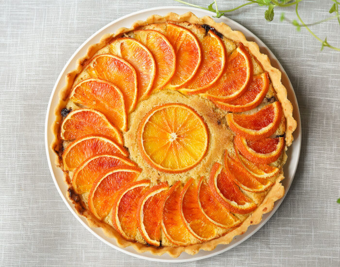 Glutensiz Portakallı Kek