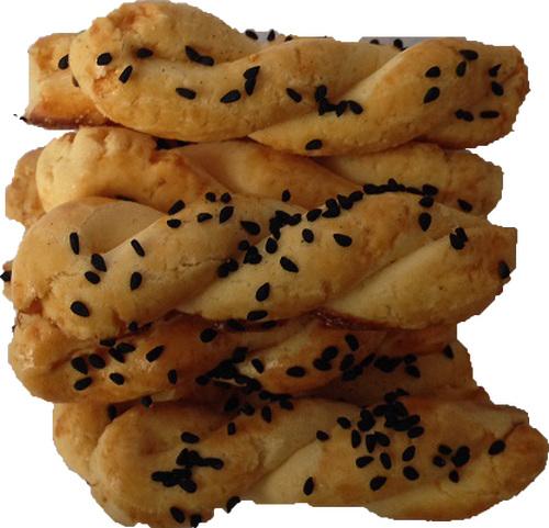 glutensiz çörekotlu  kurabiye